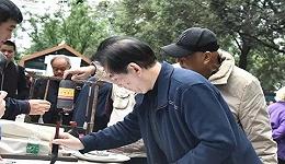 众多知名文艺界人士锦江公园采风  用艺术传递锦江之美